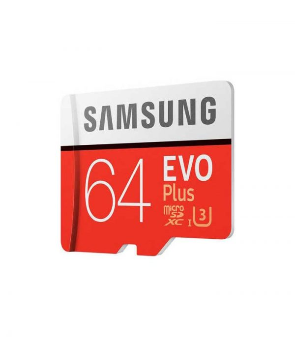 Samsung Evo Plus microSDXC 64GB U3 with Adapter