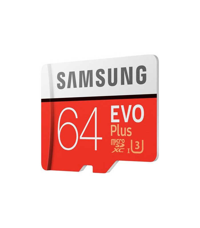 Samsung Evo Plus microSDXC 64GB U3 with Adapter