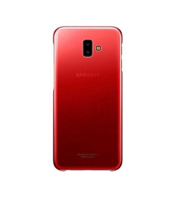Samsung Gradation Cover για Samsung Galaxy J6+ - Κόκκινο