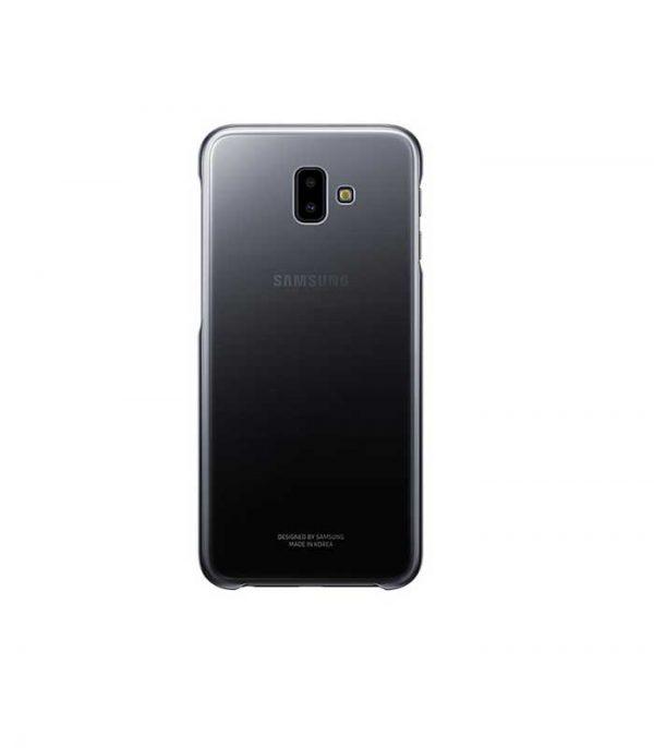 Samsung Gradation Cover για Samsung Galaxy J6+ - Μαύρο