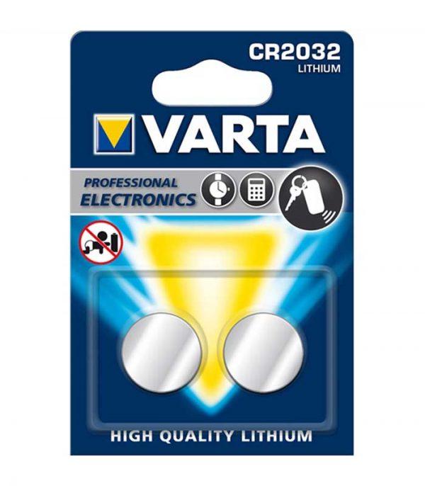 Varta CR2032 Μπαταρία Λιθίου (2τμχ)