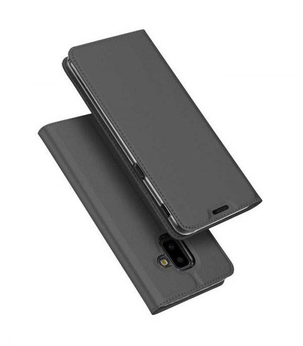 DUX DUCIS Skin Pro Bookcase type Θήκη για Samsung Galaxy J6 Plus 2018 - Γκρι