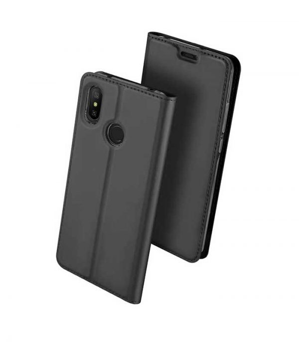 DUX DUCIS Skin Pro Bookcase type Θήκη για Xiaomi Redmi Note 6 Pro - Γκρι