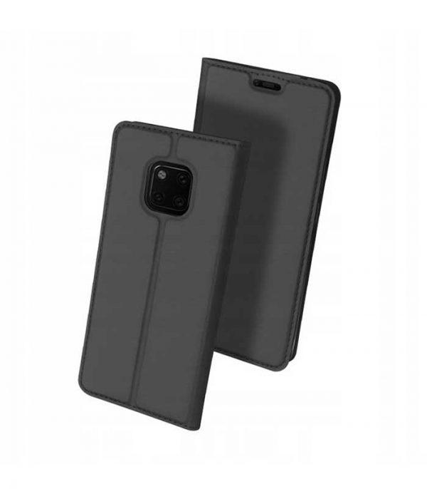 DUX DUCIS Skin Pro Bookcase type Θήκη για Huawei Mate 20 Pro - Γκρι