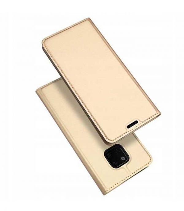 DUX DUCIS Skin Pro Bookcase type Θήκη για Huawei Mate 20 Pro - Χρυσό
