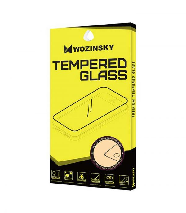 Wozinsky Tempered Glass Full Glue Super Tough Screen Protector Full Coveraged with Frame Case Friendly for Xiaomi Redmi Note 5