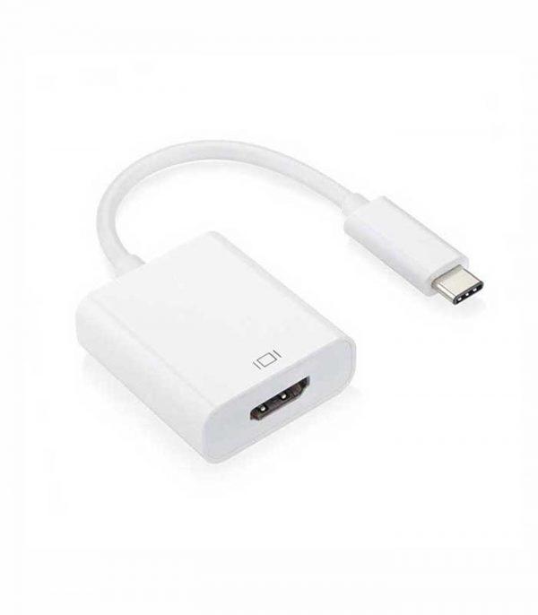 DeTech αντάπτορας USB Type-C - HDMI female