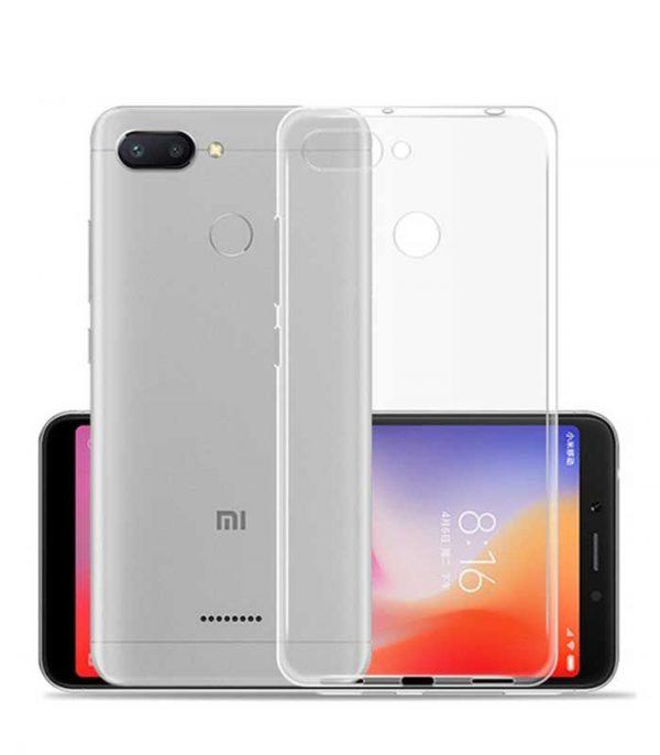 OEM TPU Ultra Slim 0.5mm Θήκη για Xiaomi Mi 8 Lite - Διάφανο