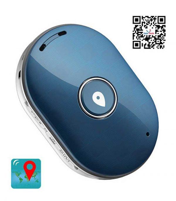Mini GPS Eντοπισμού Θέσης Q60, 400mAh, Αδιάβροχο - Μπλε