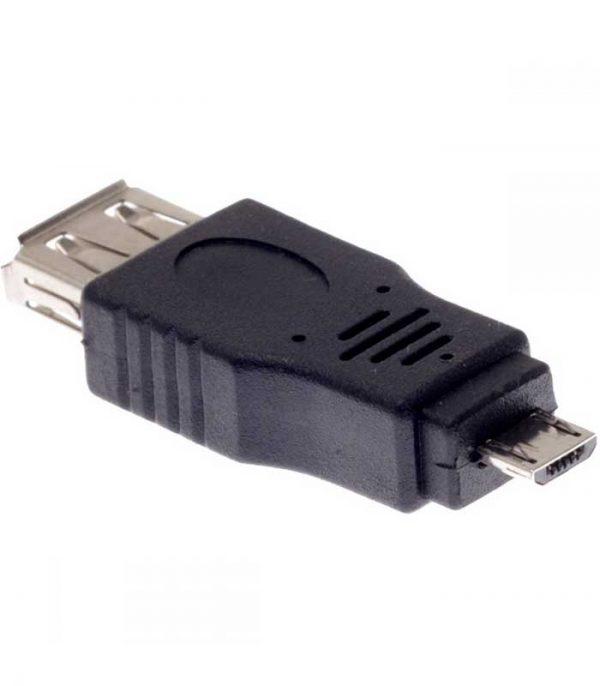 DeTech Αντάπτορας USB A Θηλυκό - micro USB