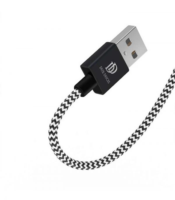 Dux Ducis K-ONE Series USB / micro USB Cable 2.1A (3m) - Μαύρο
