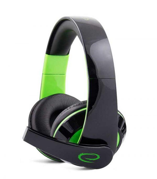 Esperanza EGH300G Condor Gaming Ηeadphones with Microphone - Πράσινο
