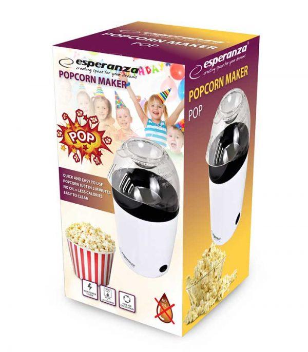 Esperanza EKP006 Συσκευή Παρασκευής Pop Corn Maker