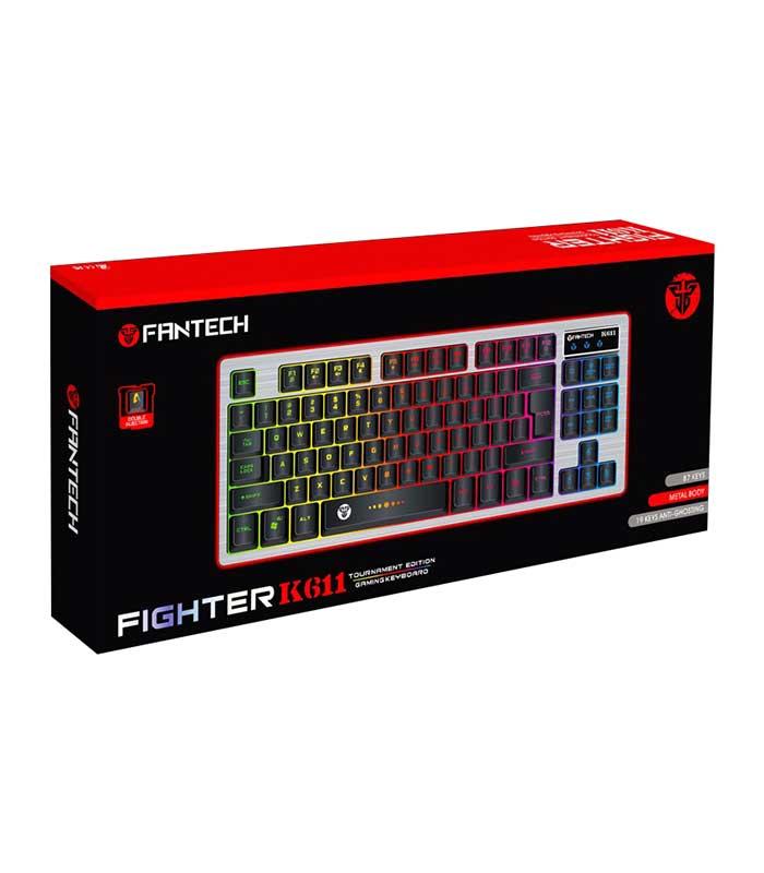 FanTech Fighter K611 Gaming Ενσύρματο Πληκτρολόγιο