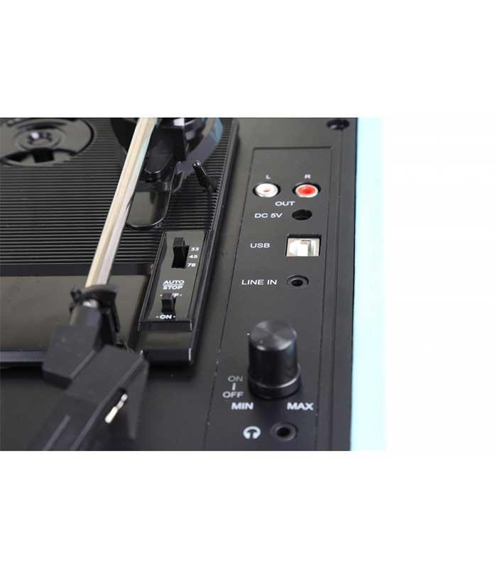 Fenton RP115 Retro Vintage Πικάπ με ηχεία σε Βαλίτσα για Δίσκους Βινυλίου με USB Recording και Bluetooth