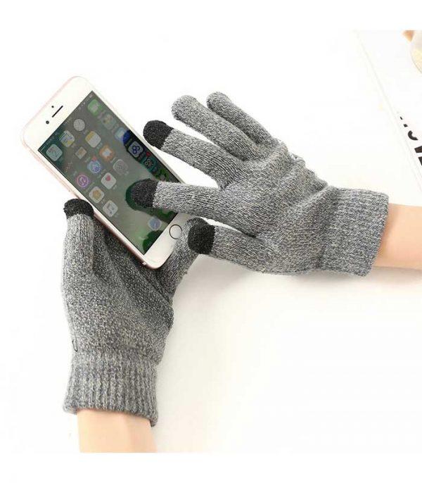 Γάντια Touchscreen - Γκρι