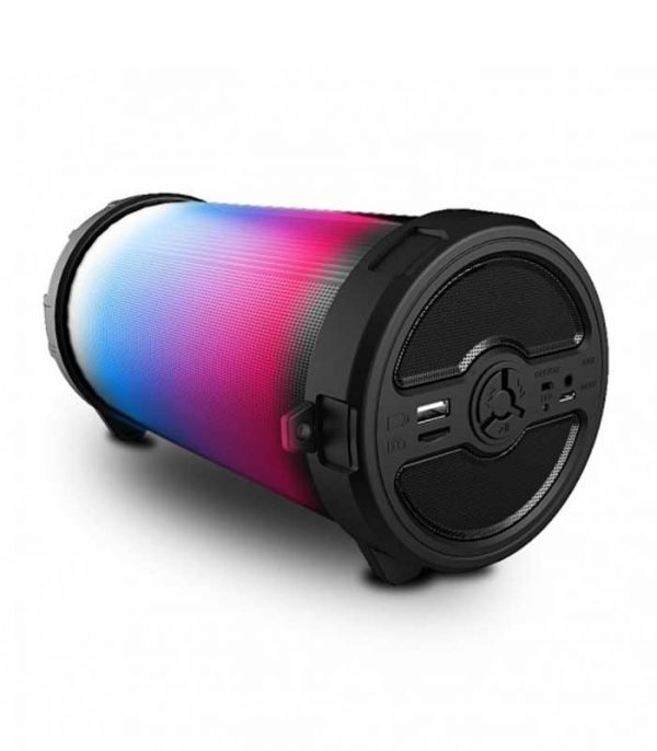 iDance Cyclone CY 300 Φορητό ηχείο με Bluetooth USB Mp3 Player, LED φωτισμού, Ραδιόφωνο FM και επαναφορτιζόμενη μπαταρία