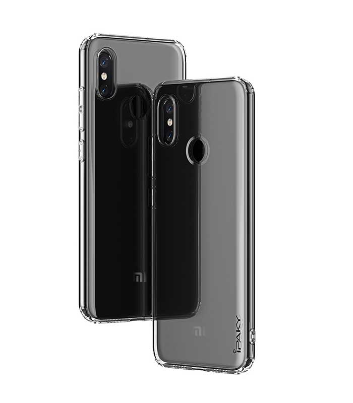 iPaky Effort TPU cover + 9H Tempered Glass για Xiaomi Mi 8 SE - Διάφανο