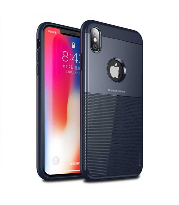 iPaky Shield case cover για iPhone XS / X - Μπλε