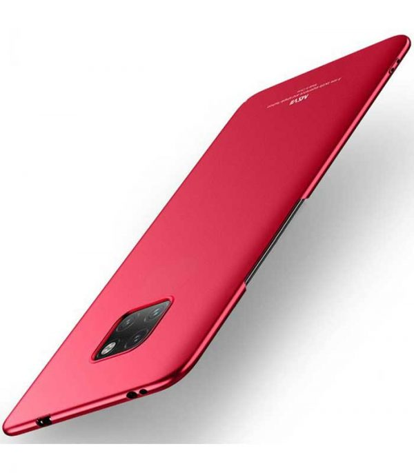 MSVII Simple Ultra-Thin Θήκη για Huawei Mate 20 Pro - Κόκκινο