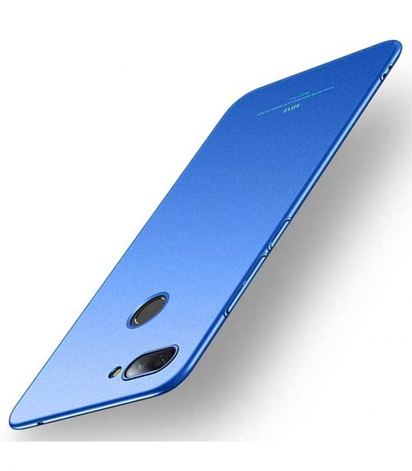 MSVII Simple Ultra-Thin Θήκη για Xiaomi Mi 8 Lite - Μπλε