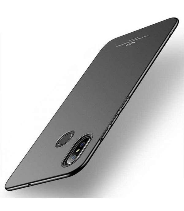 MSVII Simple Ultra-Thin Θήκη για Xiaomi Mi 8 - Μαύρο