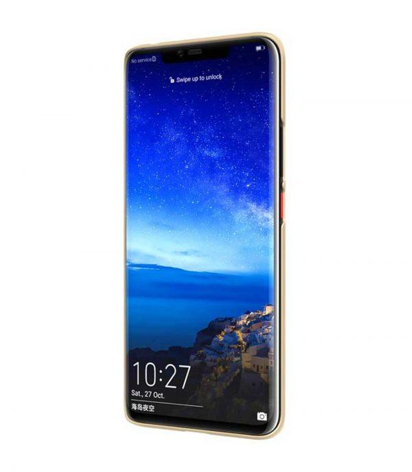 Nillkin Super Frosted Shield Case + kickstand για το Huawei Mate 20 Pro - Χρυσό