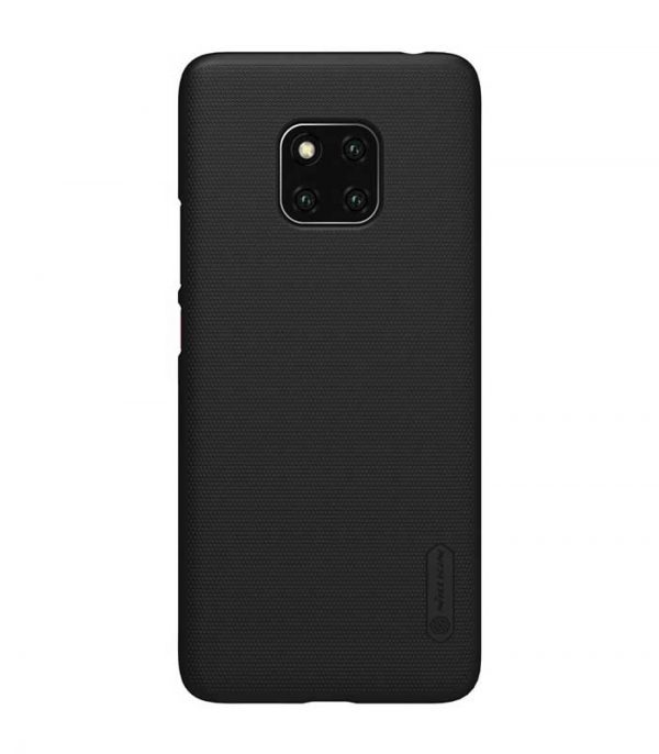 Nillkin Super Frosted Shield Case + kickstand για το Huawei Mate 20 Pro - Μαύρο