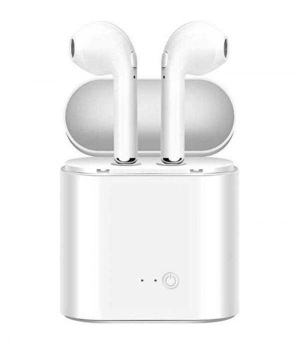 OEM TWS i7s Ασύρματο Ακουστικό Bluetooth τύπου iPhone Airpods - Λευκό