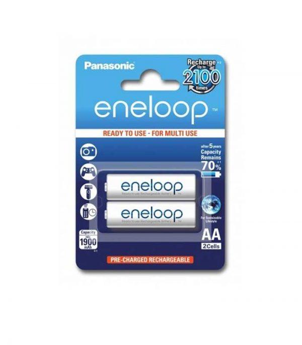 Panasonic Eneloop AA 1900mAh Επαναφορτιζόμενες (2τμχ)