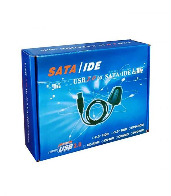 Powertech καλώδιο USB 2.0 σε IDE & SATA με τροφοδοσία (1.5m)