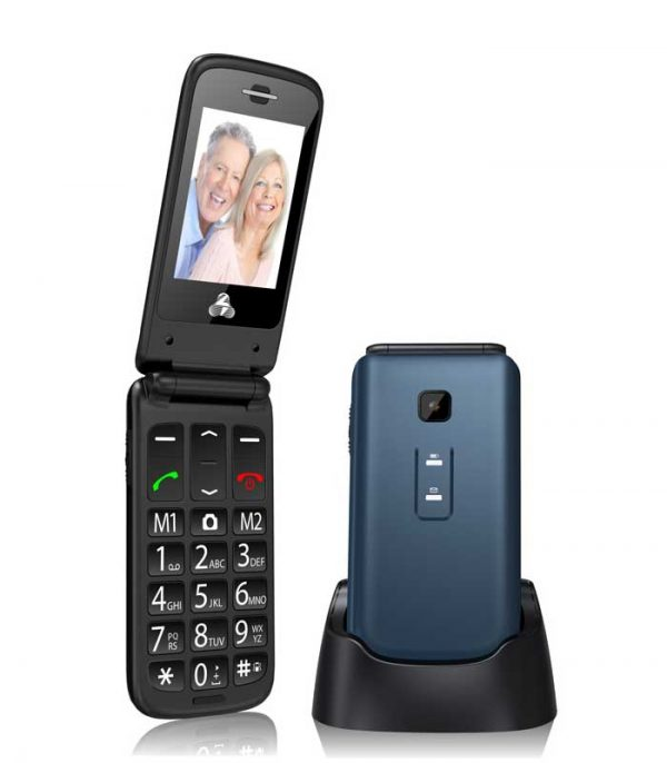 Powertech Sentry II, SOS Call, Dual Sim, Φακό - Μπλε