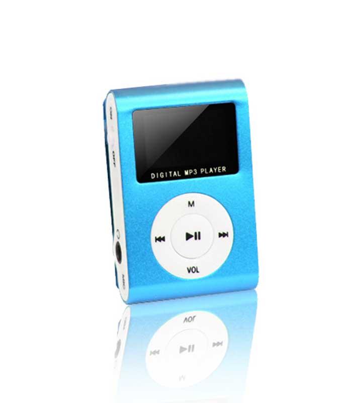 Setty MP3 Player with LCD + Ακουστικά - Μπλε