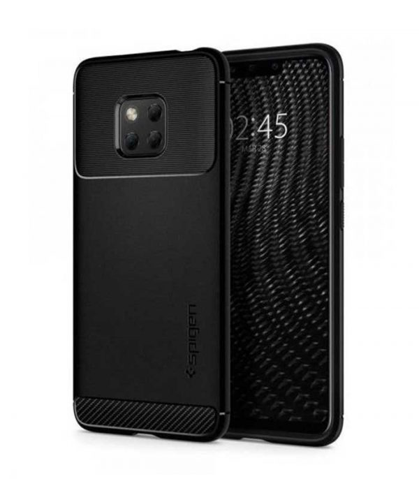 Spigen Rugged Armor case cover για Huawei Mate 20 Pro - Μαύρο