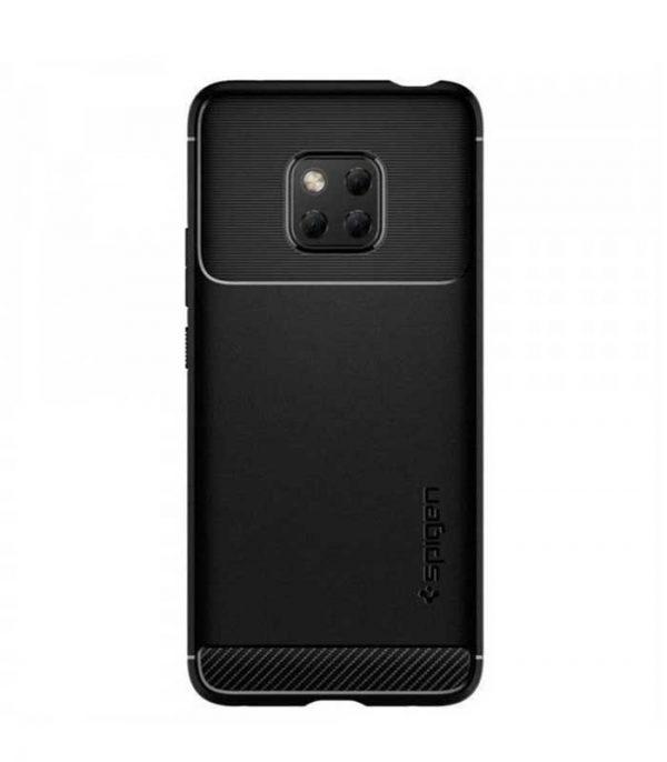Spigen Rugged Armor case cover για Huawei Mate 20 Pro - Μαύρο