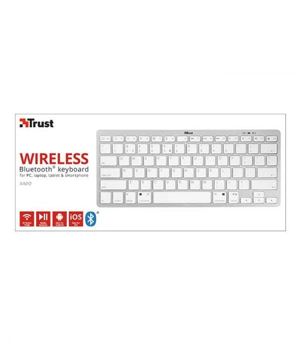 Trust - Nado Wireless Bluetooth Keyboard