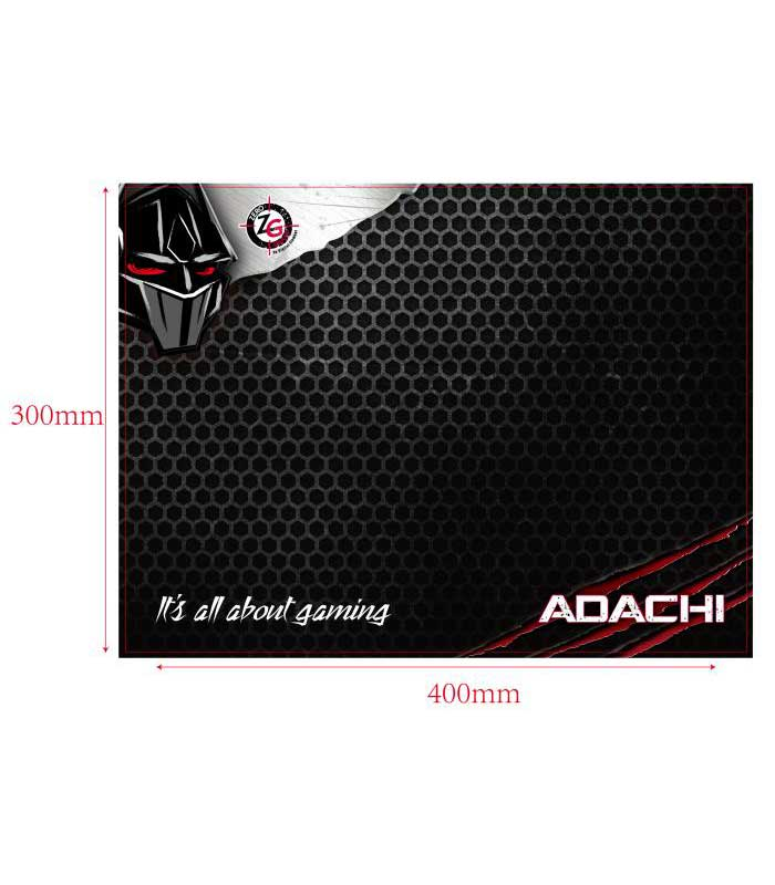 Zeroground KB-1800GUHMS Adachi 4 in1 Set Gaming Πληκτρολόγιο + Ποντίκι + Headset + Mousepad