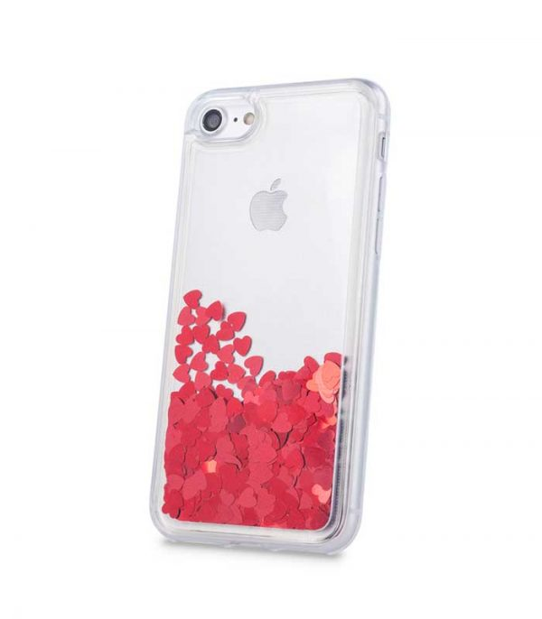 Liquid Heart TPU red