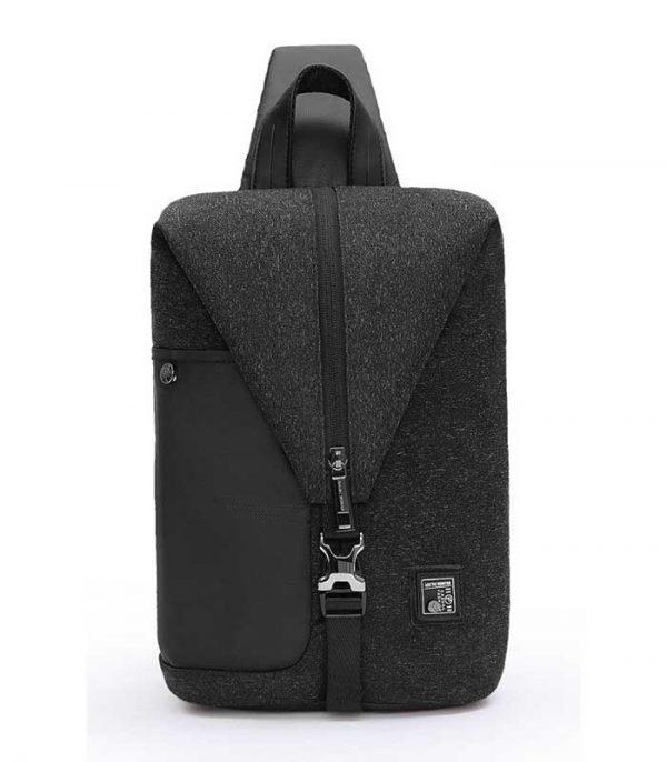 ARCTIC HUNTER τσάντα Crossbody XB00061-DG, αδιάβροχη - Μαύρο