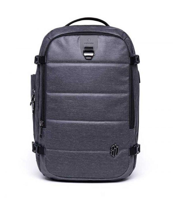 ARCTIC HUNTER τσάντα πλάτης B00260, laptop, USB-3.5mm, αδιάβροχη - Μαύρο
