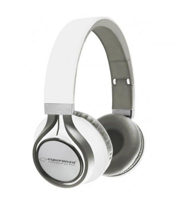 Esperanza EH159W Freestyle Stereo Audio Headphones - Λευκό