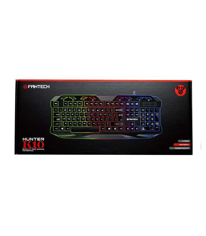 FanTech K10 Hunter Gaming Ενσύρματο Πληκτρολόγιο