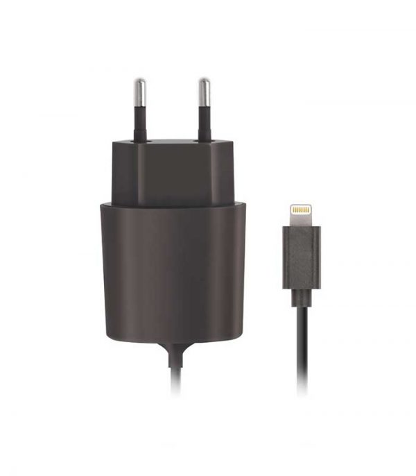 Forever Lightning Wall Charger 2.1A - Μαύρο