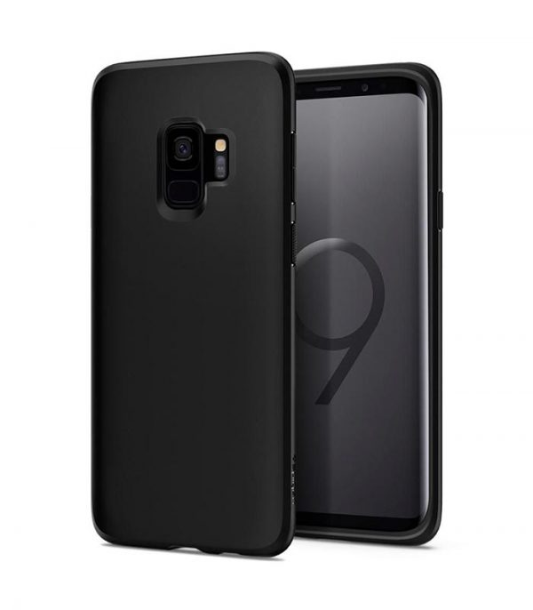 Spigen Liquid Crystal για Samsung Galaxy S9 - Μαύρο