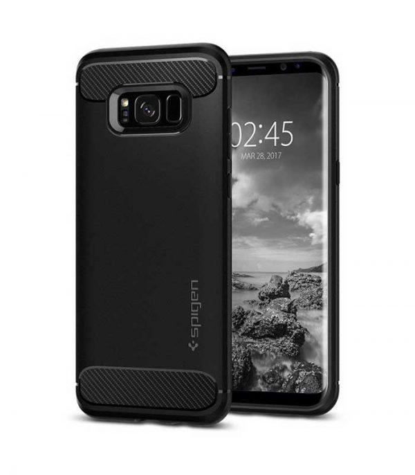 Spigen Rugged Armor για Samsung Galaxy S8 - Μαύρο