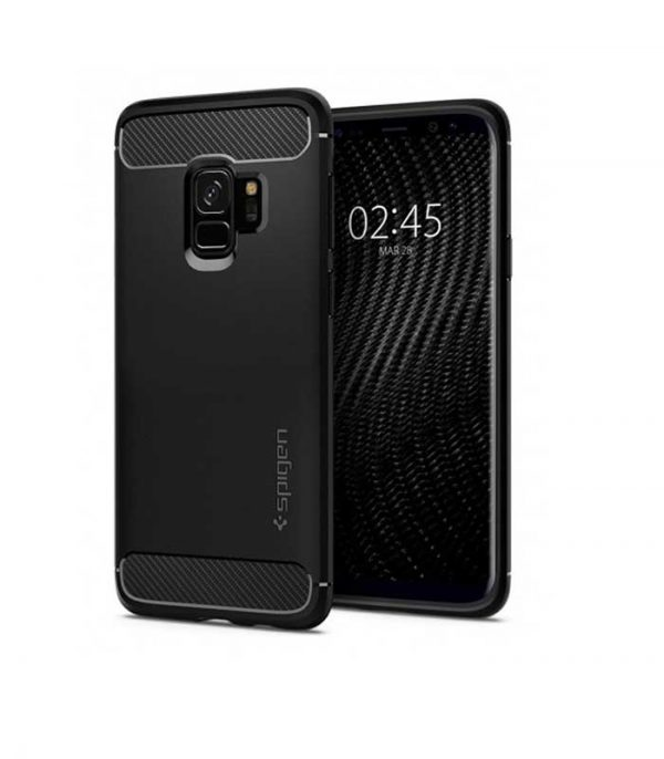 Spigen Rugged Armor για Samsung Galaxy S9 - Μαύρο