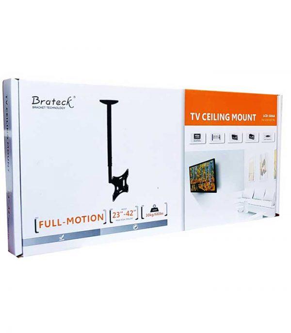"Brateck LCD-504A βάση TV οροφής, συμβατή με οθόνες 32""- 42"", έως 30kg"
