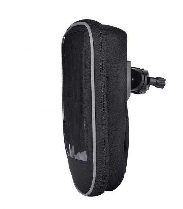 "Devia αδιάβροχη θήκη κινητού με βάση για ποδήλατο 5.5"" - Μαύρο"