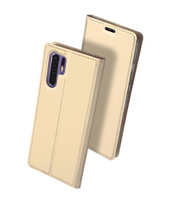 DUX DUCIS Skin Pro Magnet Book θήκη για Huawei P30 Pro - Χρυσό