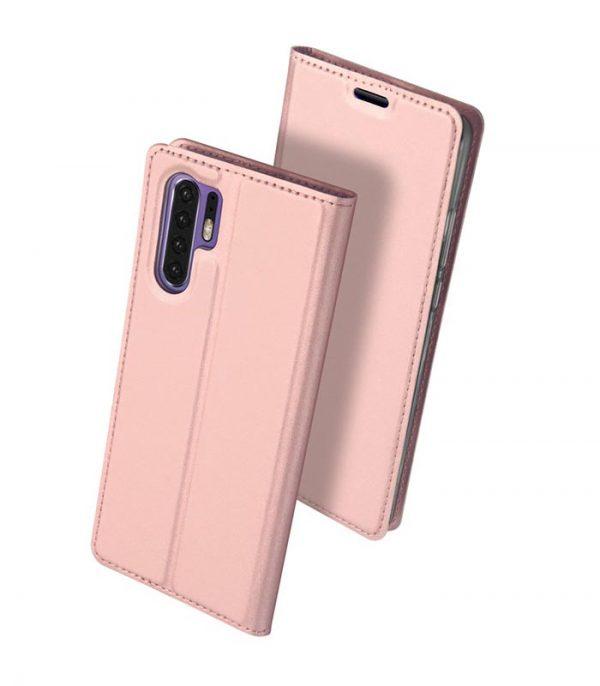 DUX DUCIS Skin Pro Magnet Book θήκη για Huawei P30 Pro - Ροζ